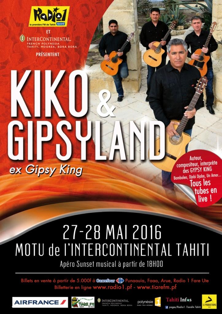 Deux soirées avec Kiko, l'ex-chanteur des Gipsy Kings, et ses musiciens