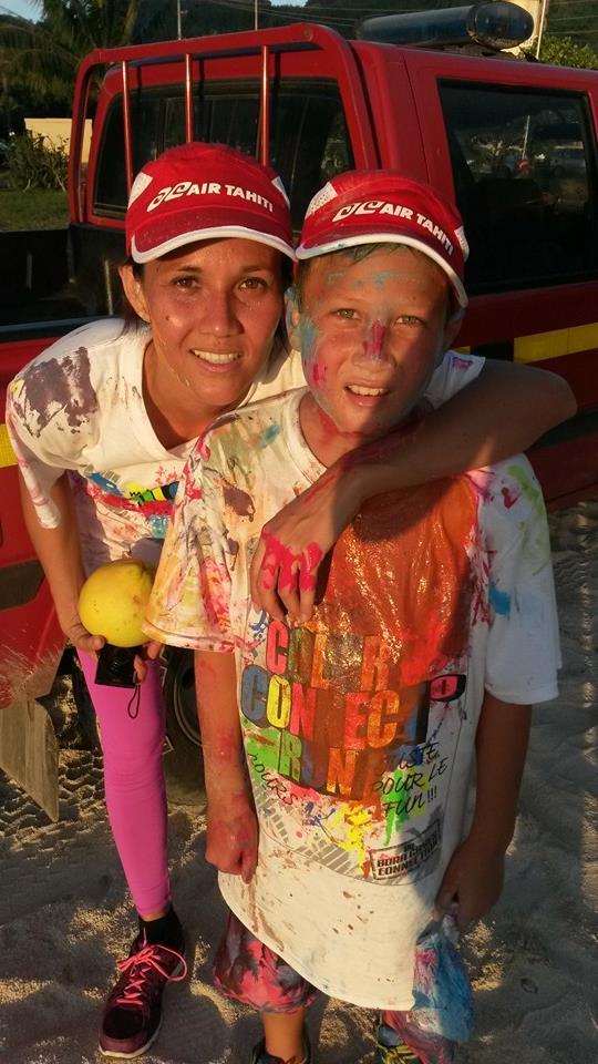Rendez-vous samedi pour la Color Connection Run à Bora Bora