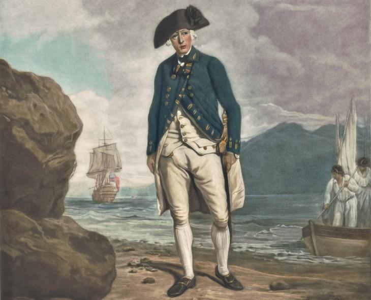 Arthur Philipp, le gouverneur de la colonie anglaise fondée en Australie, grand patron du bagne.
