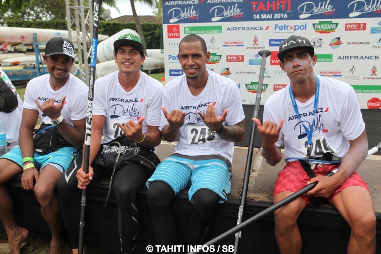 Quatre riders de Mataiea dans le Top 10 ! (Lono Teururai - pas lui -, Rete, Yoann et Georges Cronsteadt)