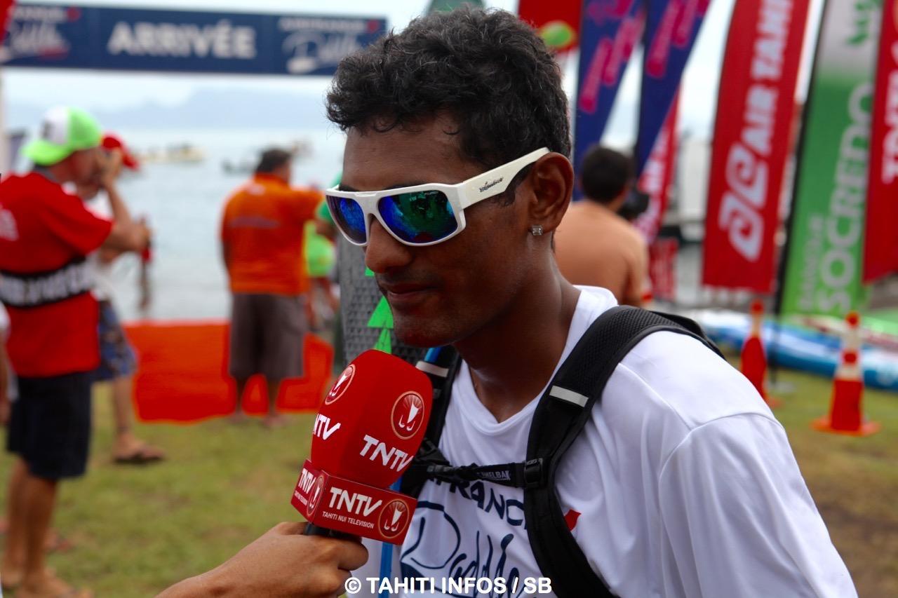 Niuhiti Buillard, champion de Polynésie 2015, s'est montré déçu