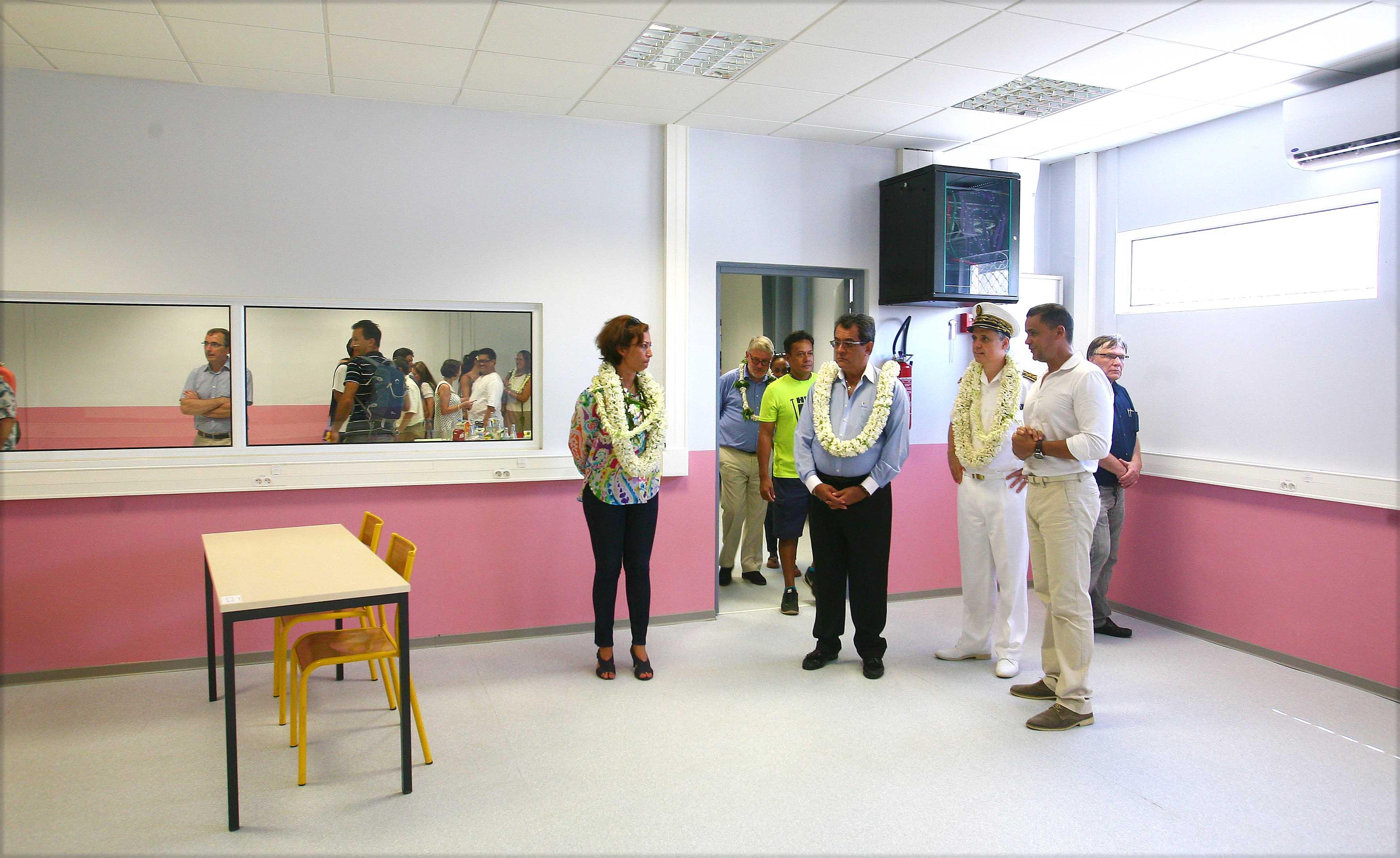 Les nouveaux locaux de la cité scolaire de Taaone inaugurés
