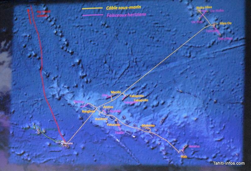 Deux nouveaux câbles sous-marins domestiques vont relier les Marquises et les Tuamotu à Tahiti.