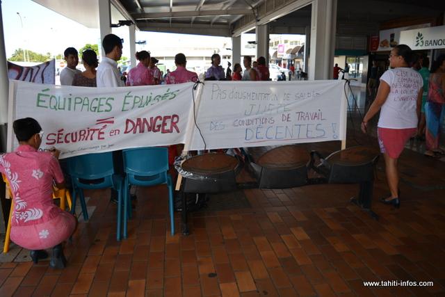 La sécurité ou la pression : des éléments qui ont poussé les PNC à partir en grève, lundi