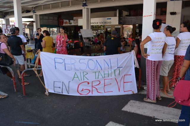 Air Tahiti : 30 millions de francs de perdus par jour de grève