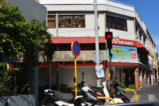 L'agence de Papeete était fermée ce mercredi matin