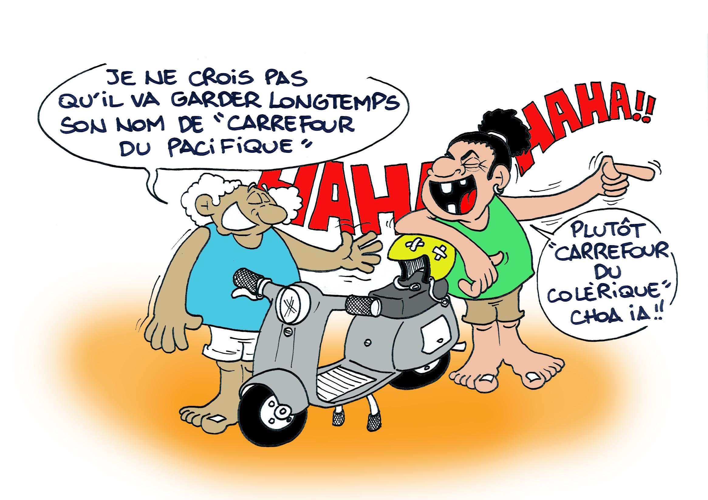 """""""Le carrefour du Pacifique"""" par Munoz"""
