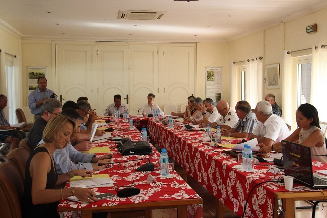 Réunion du comité de pilotage du CRSD.