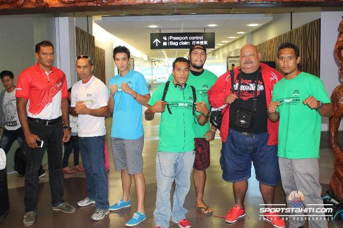 Boxe : L'élite tahitienne en Nouvelle-Zélande