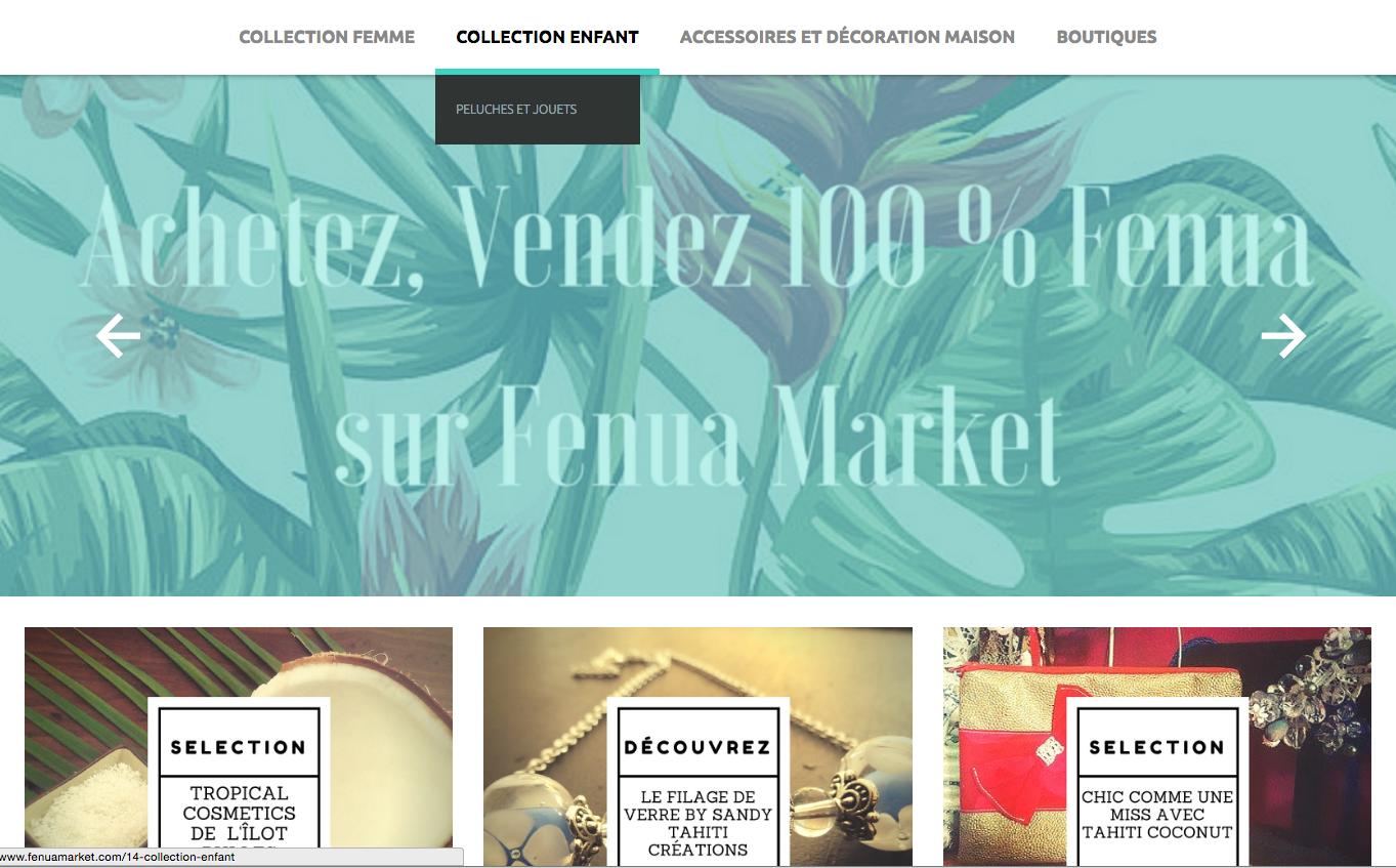 Fenua Market, une plateforme locale de e-commerce