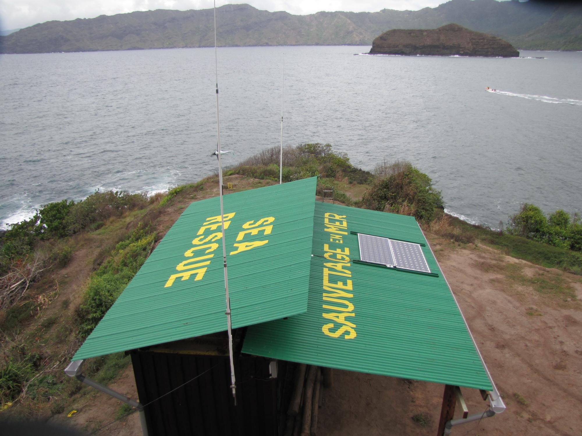 Le sémaphore et les bénévoles de la FEPSM de Hiva Oa à l'initiative d'une assistance maritime