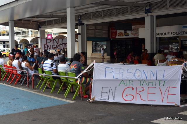Grève Air Tahiti : Reprise des négociations