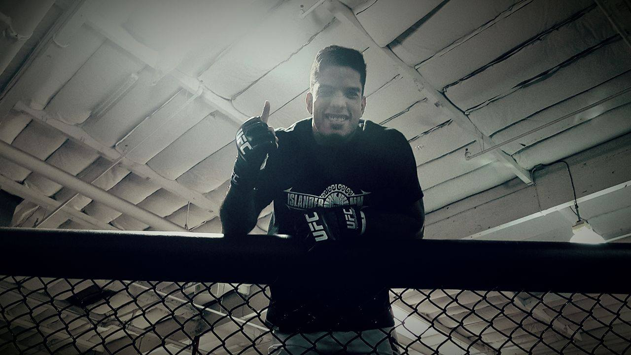 """La cage est juste un espace adapté au MMA"""
