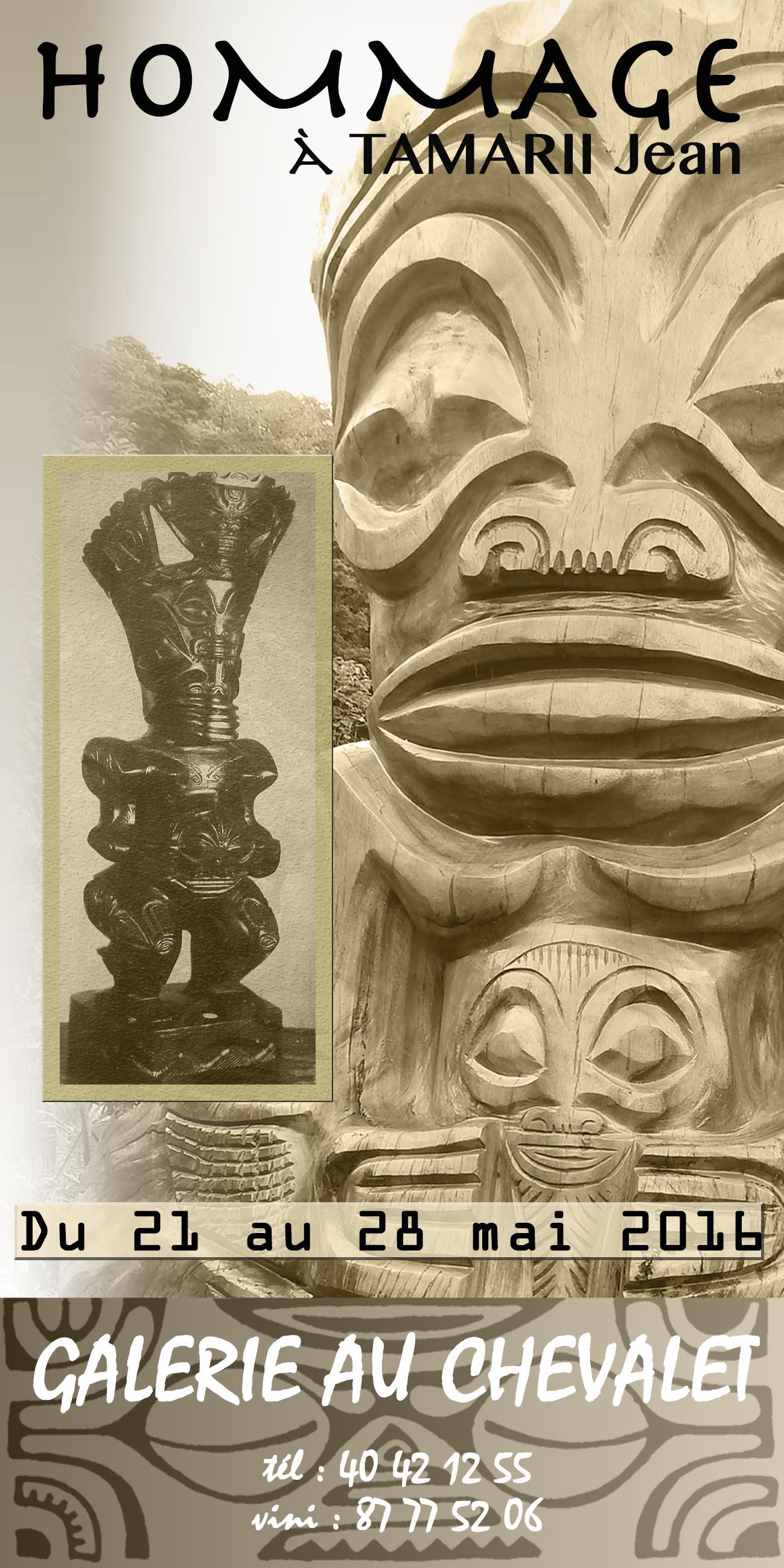 "Exposition ""Sculptures sur toile"" de Jean Tamarii"