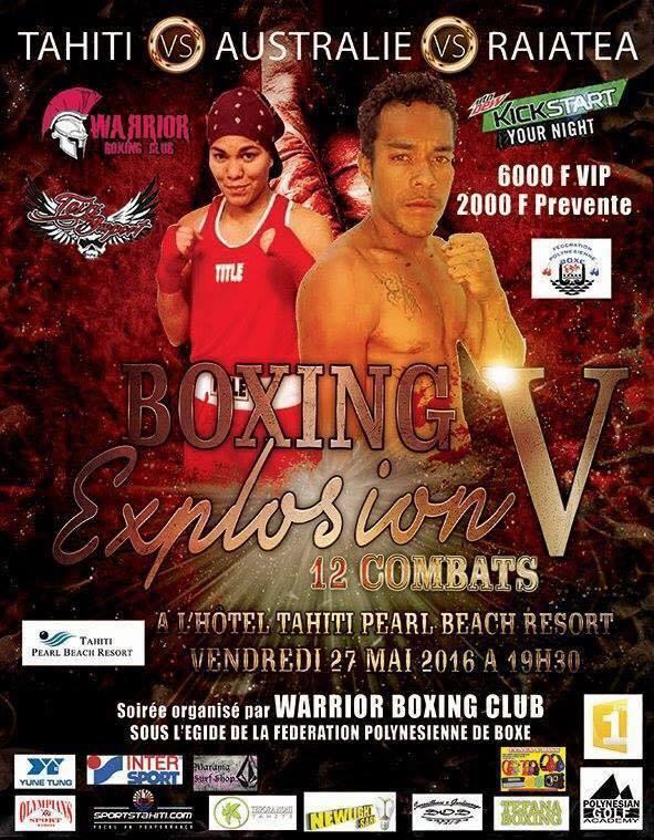 Boxe « Boxing Explosion » : Deux soirées internationales de haut niveau