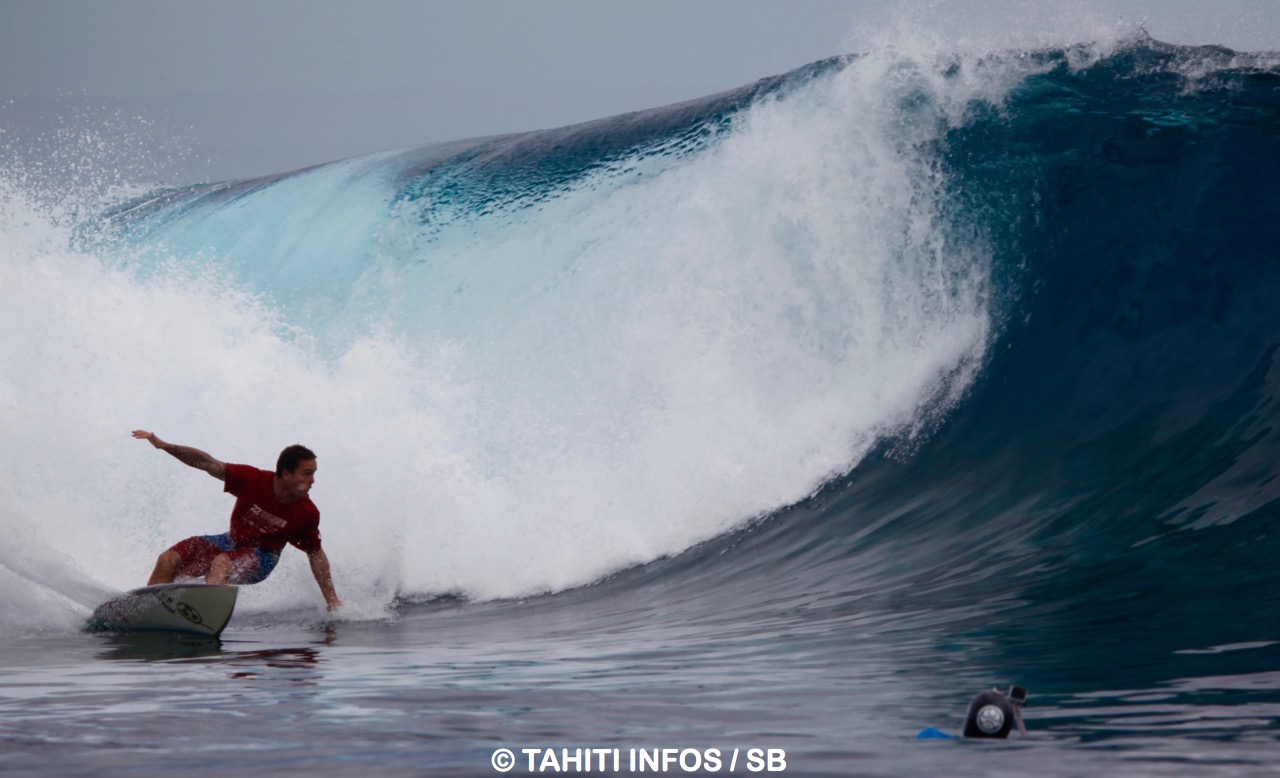 David Dandois, la vague de la victoire