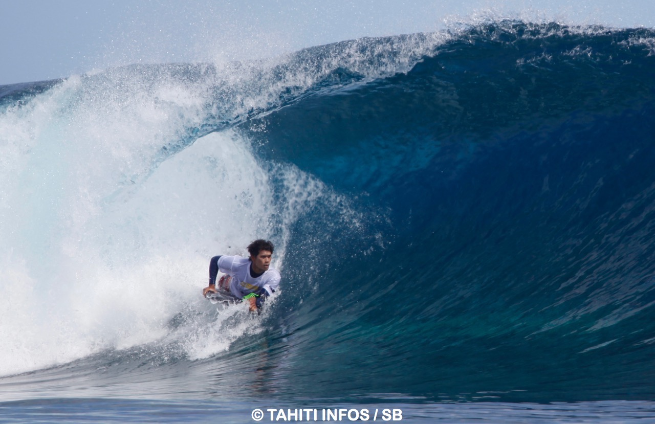 Maronui Richmond s'impose en bodyboard