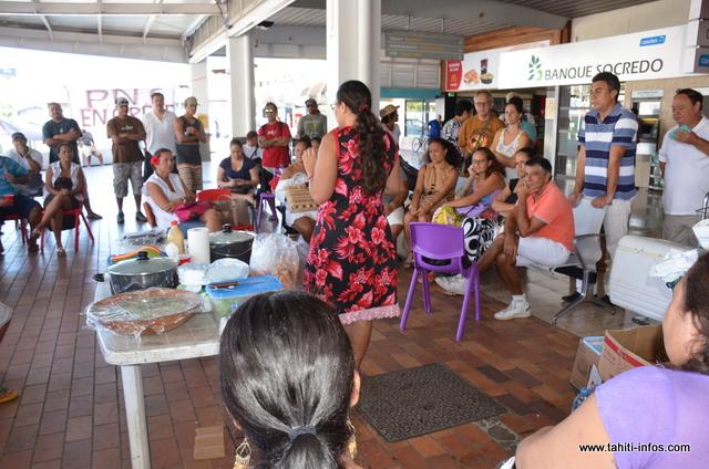 Titaina Viriamu fait le point sur la rencontre avec la direction