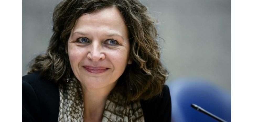 La ministre néerlandaise de la Santé Edith Schippers à La Haye aux Pays-Bas le 18 décembre 2014 (c) Afp
