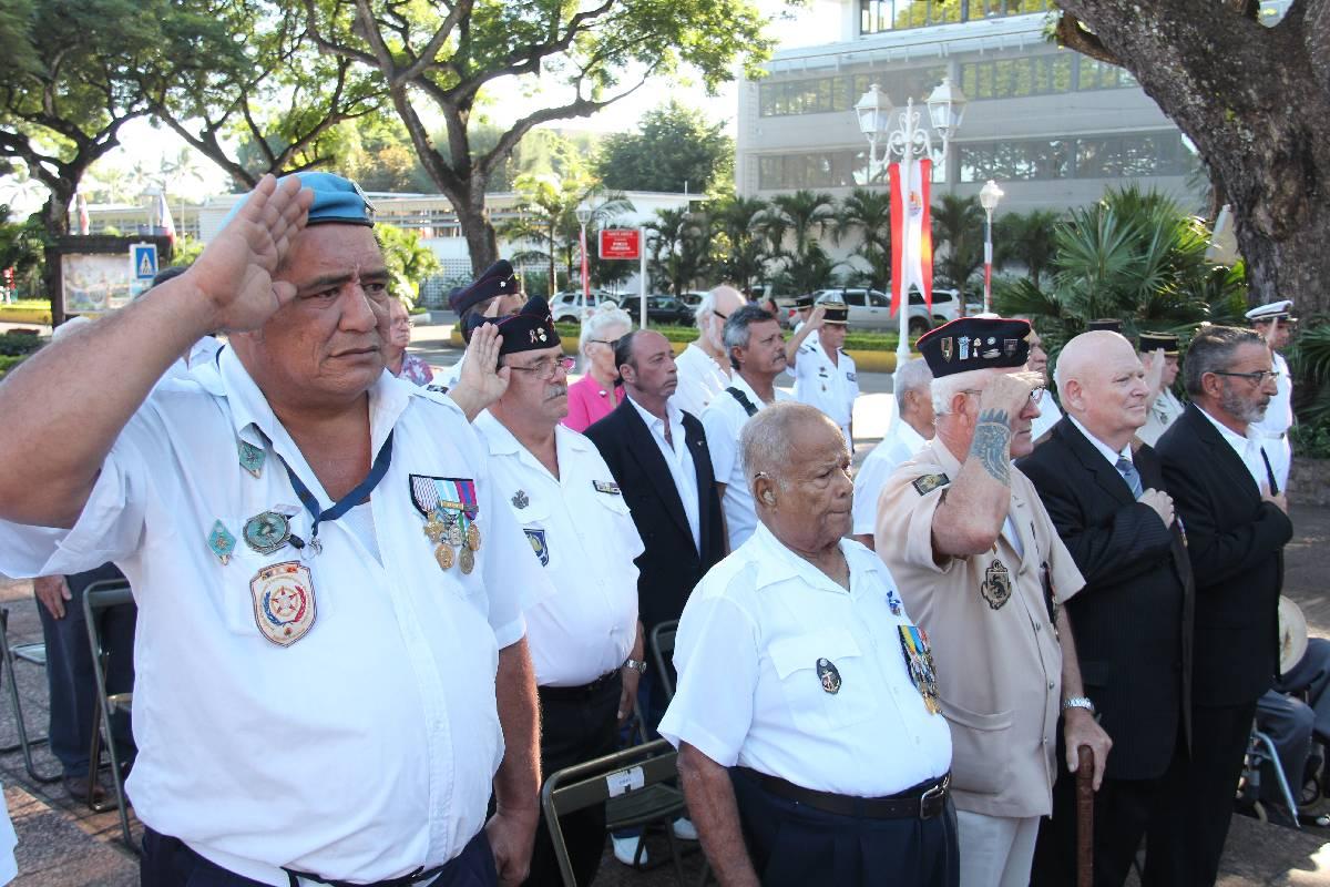 La journée nationale de la Résistance fêtée à Papeete