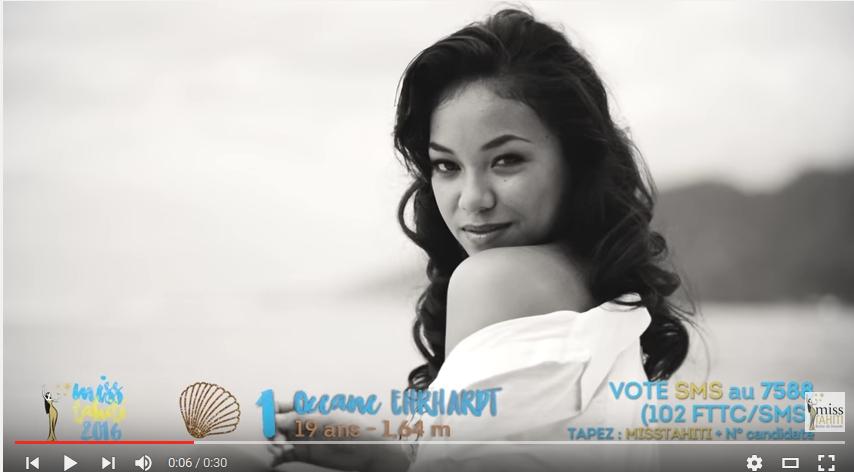 Miss Tahiti : les vidéos des 10 candidates
