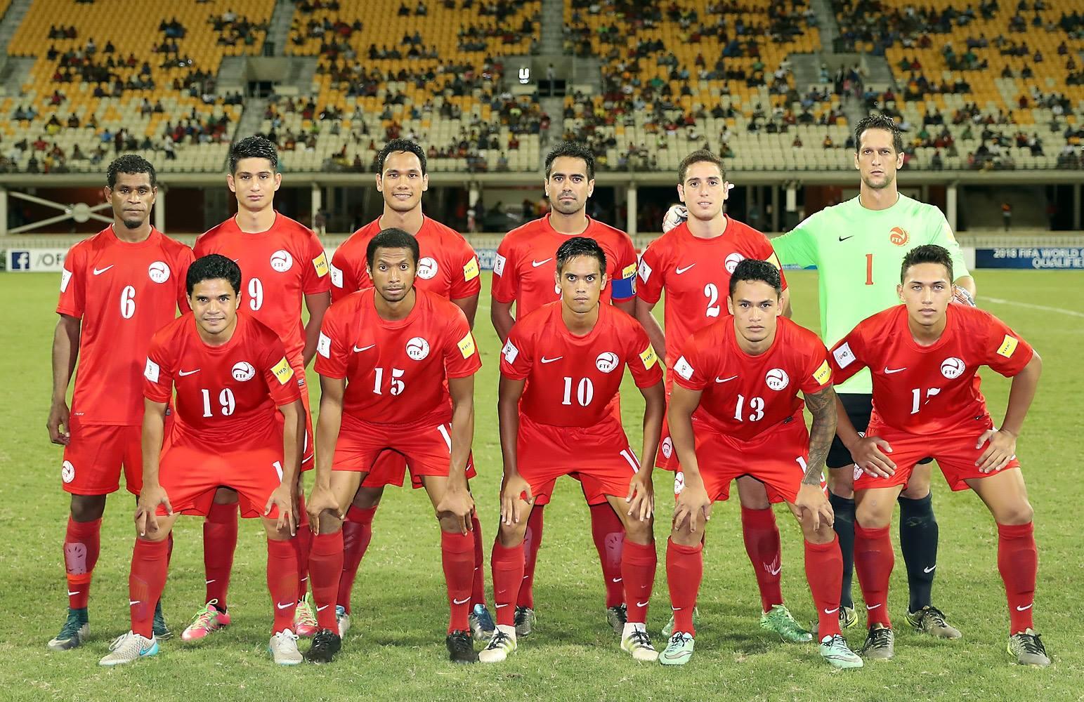 Raimana Li Fung Kuee ne faisait pas partie de la sélection mais les rouges ont bien géré leur premier match