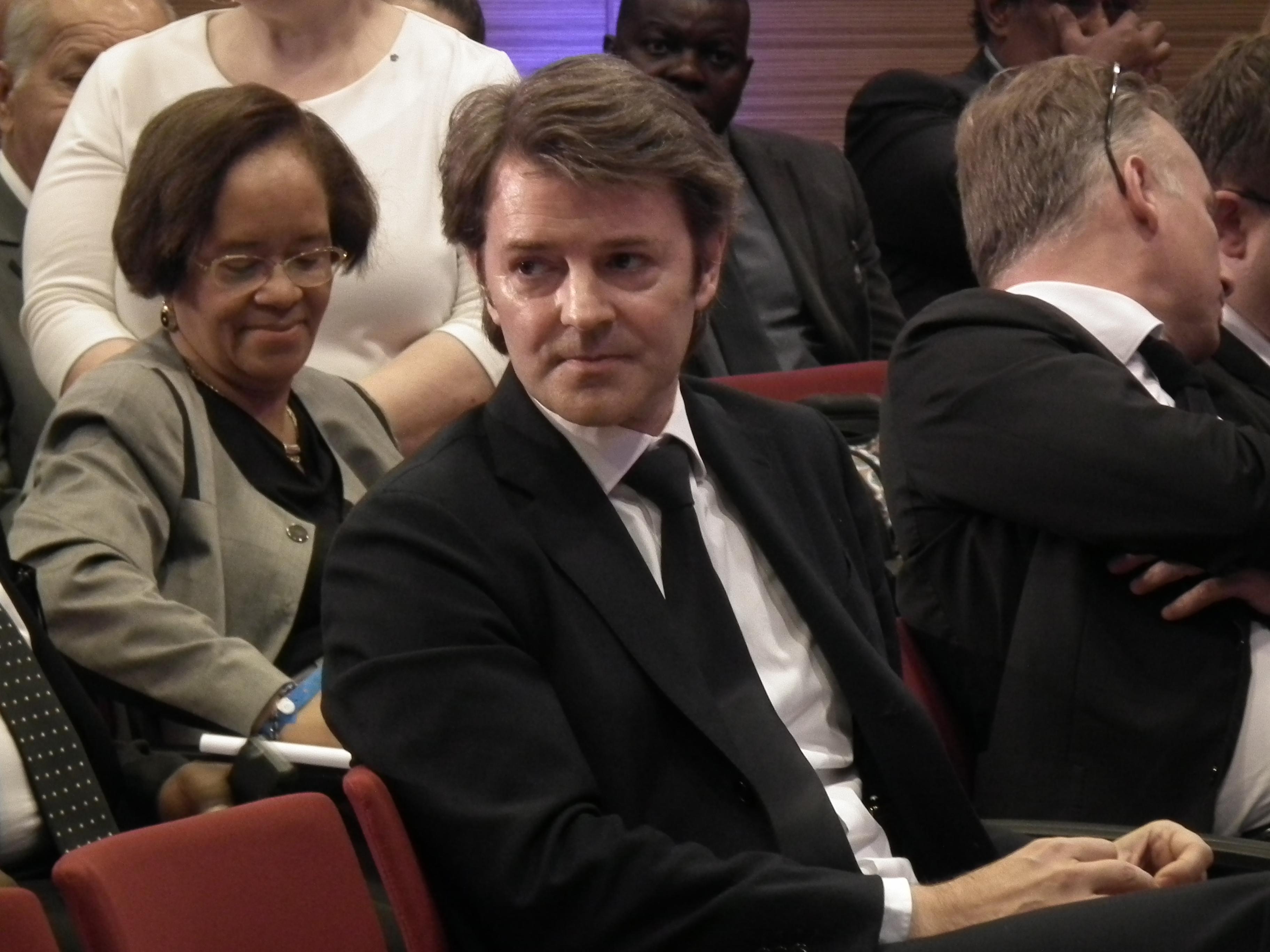 Le sénateur apparenté Les Républicains François Baroin, président de l'Association des maires de France.