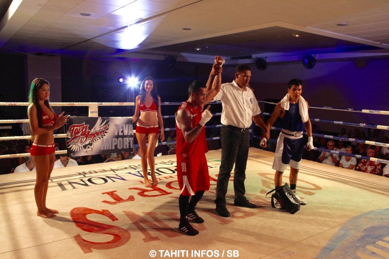 Des soirées de boxe internationale sont organisées régulièrement en Polynésie