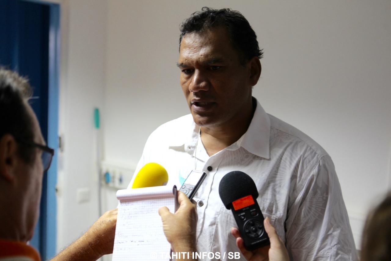 Tauhiti Nena n'a éludé aucune question