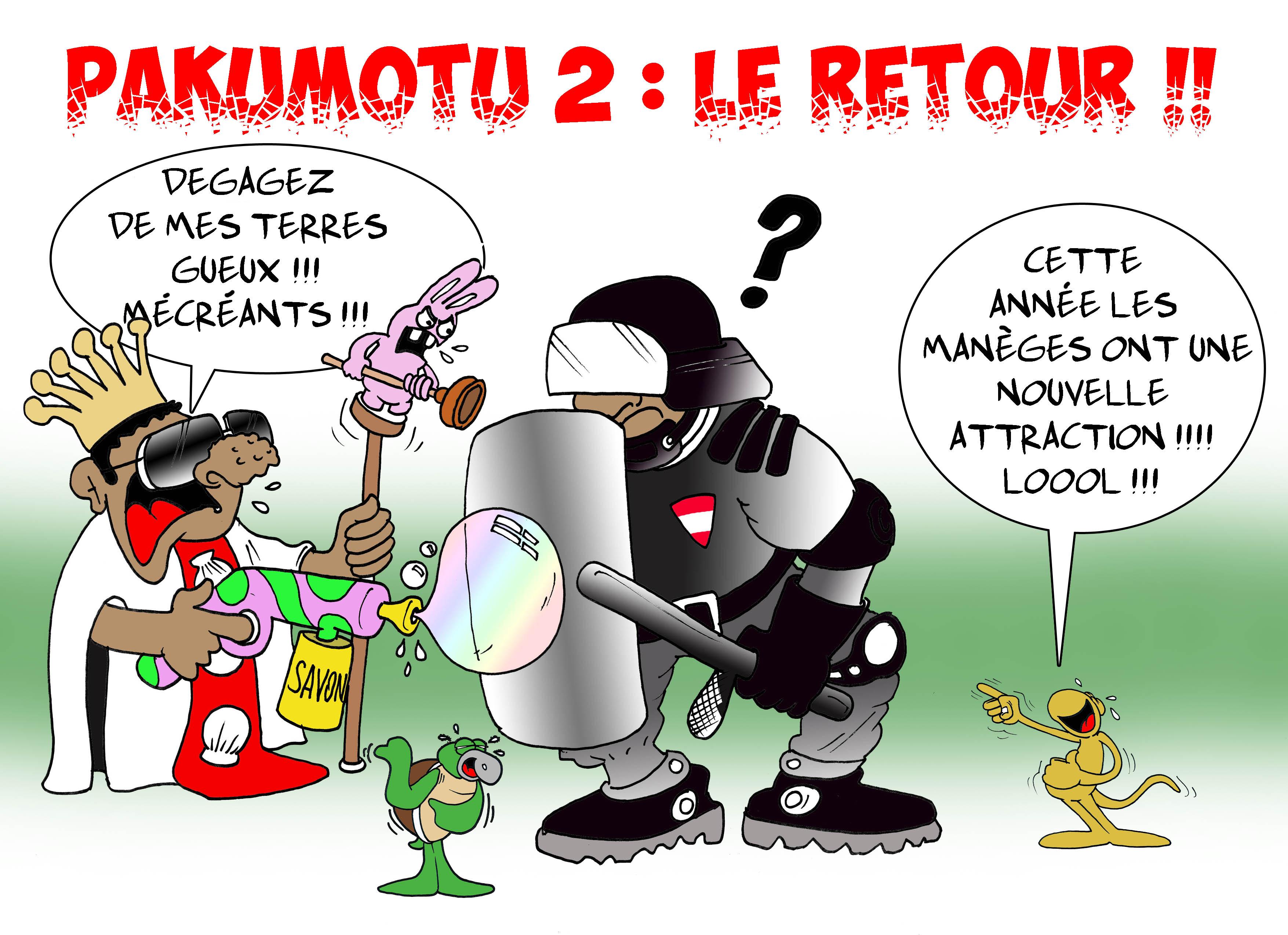 """Pakumotu, le retour"" par Munoz"