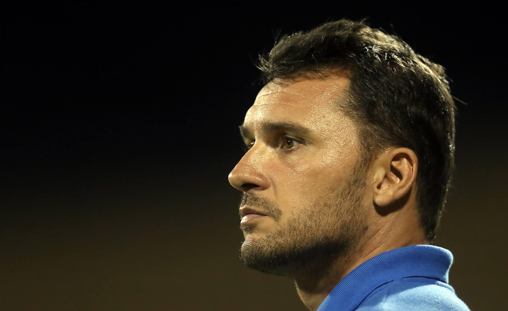 Ludovic Graugnard, le coach d'une équipe restée invaincue lors de cette Nation's Cup