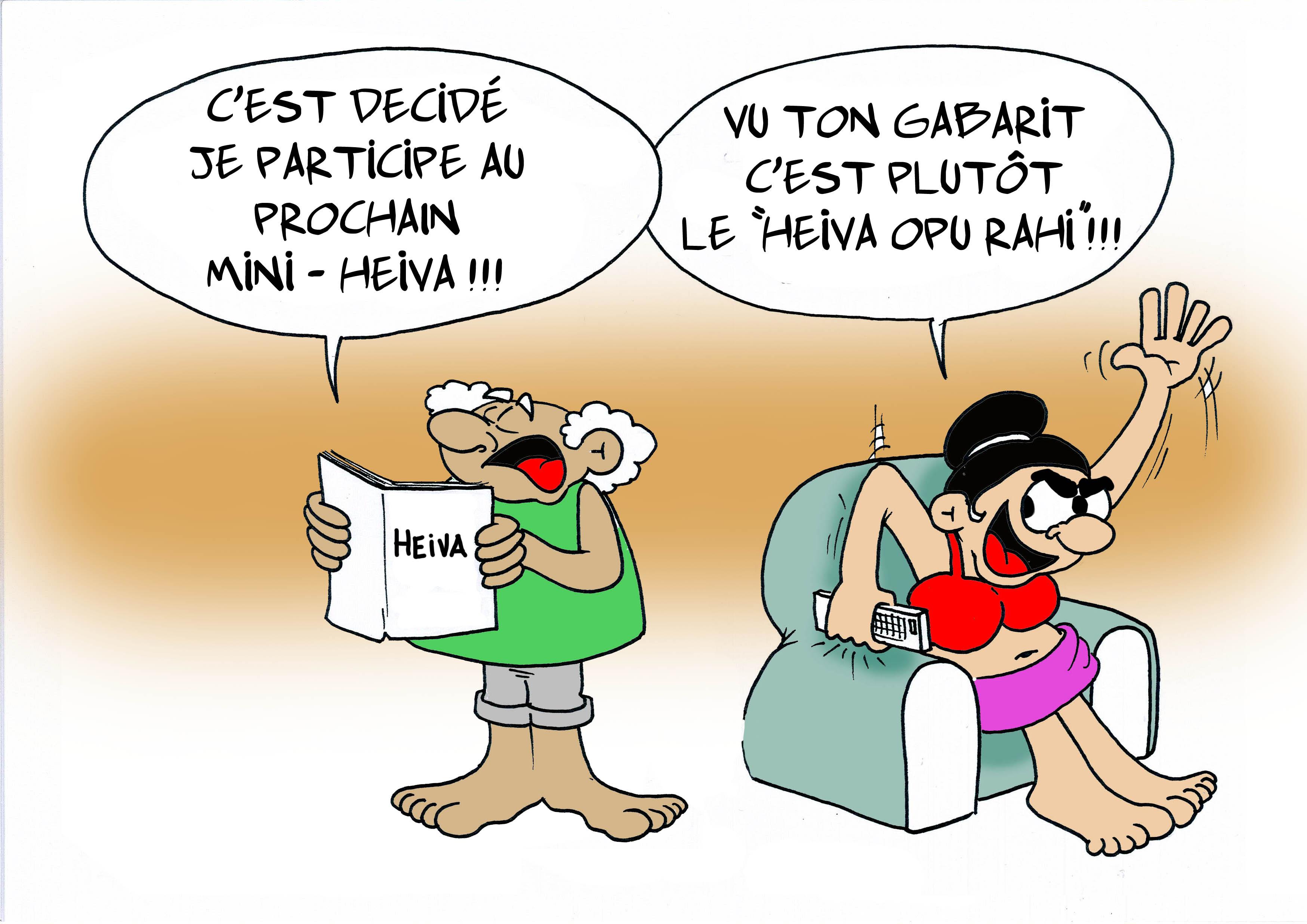 """Le Mini-Heiva"" par Munoz"