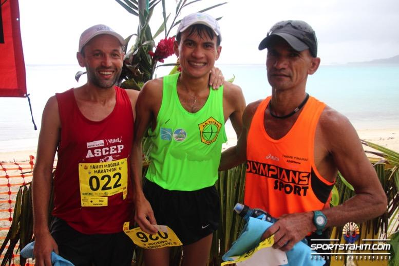 Marathon de Moorea : Une 1ère victoire pour Tutea Degage malgré la pluie