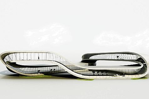 Pays-Bas : une imprimante 3D pour un bâtiment sans début ni fin