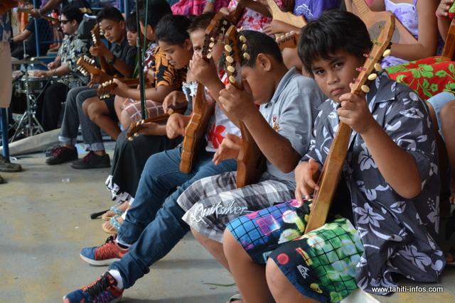 Le ukulele a été intégré à cette nouvelle édition
