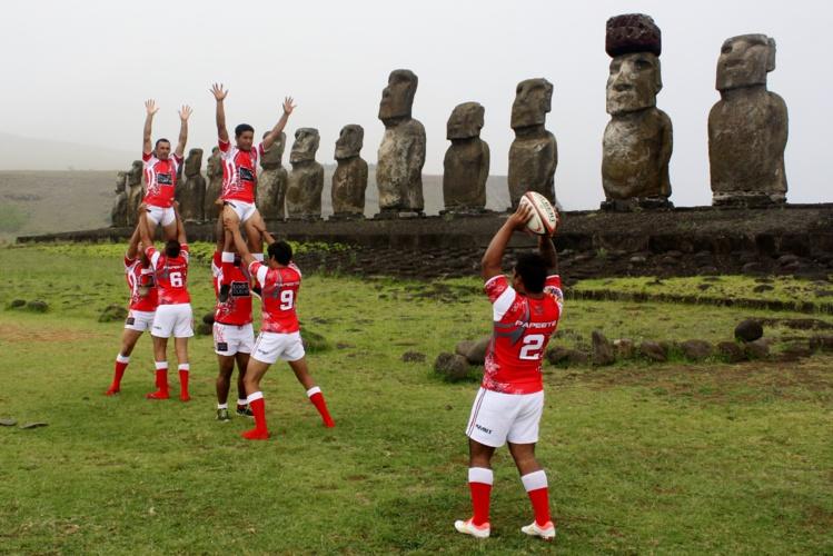 Après avoir joué à Rapa Nui, le Papeete Rugby Club va recevoir ses amis Pascuans