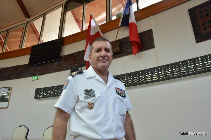 Le lieutenant-colonel Allano