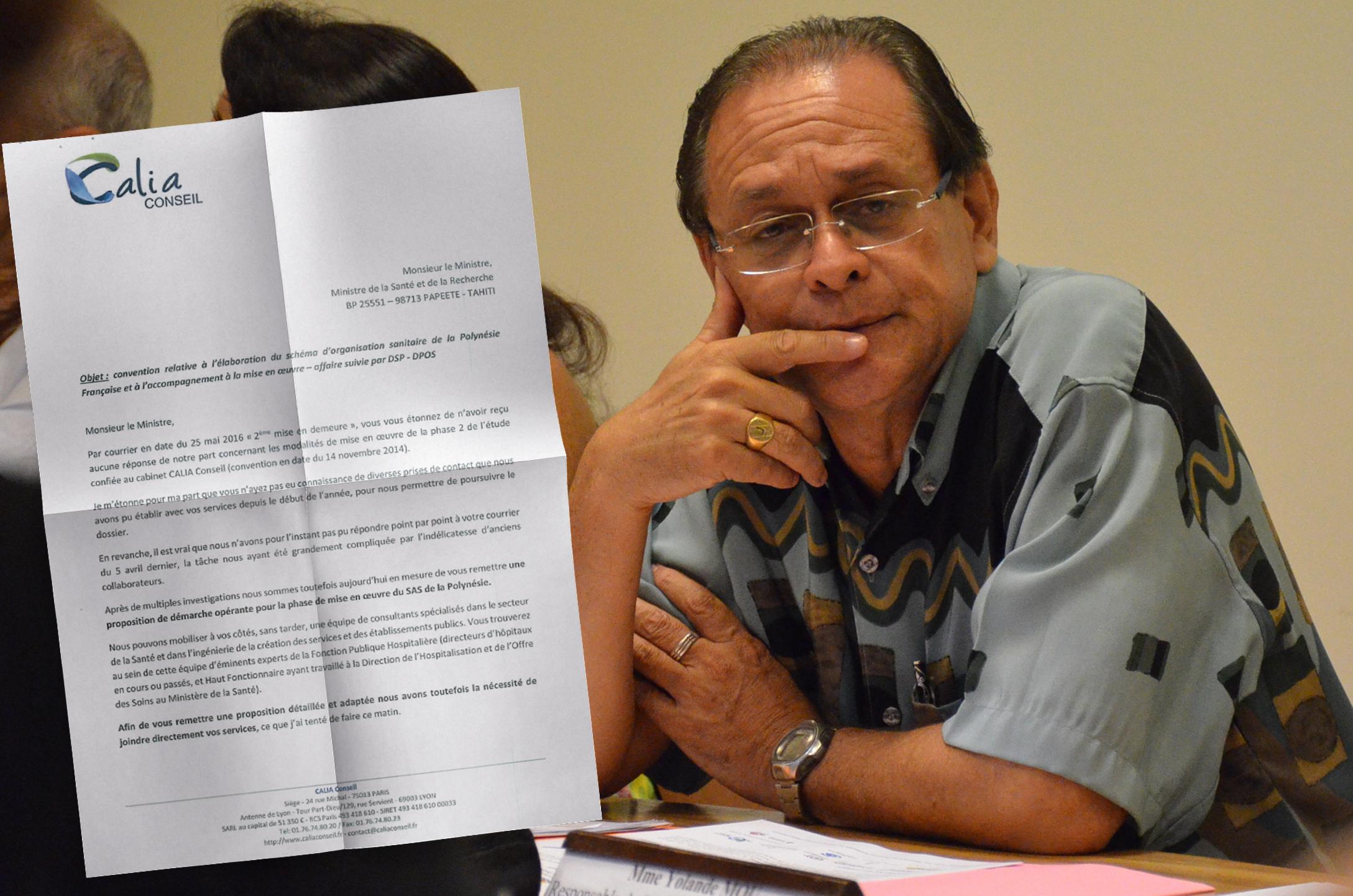 Le cabinet Calia Conseil a repris contact avec Patrick Howell, début juin. Le consultant parisien est chargé d'épauler le Pays dans la mise en œuvre du Schéma d'organisation sanitaire 2016-2021.