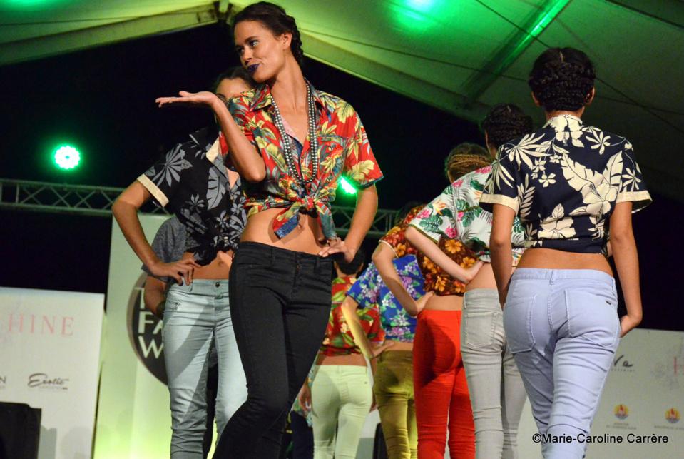 La Tahiti Fashion Week tient ses promesses