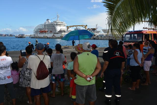 Le public était bien présent pour découvrir le quotidien des sapeurs-pompiers
