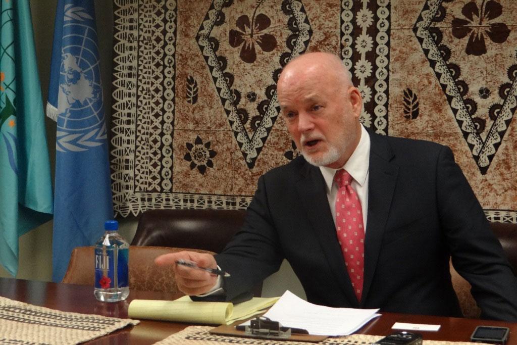 Un diplomate des Fidji élu président de l'Assemblée générale de l'ONU