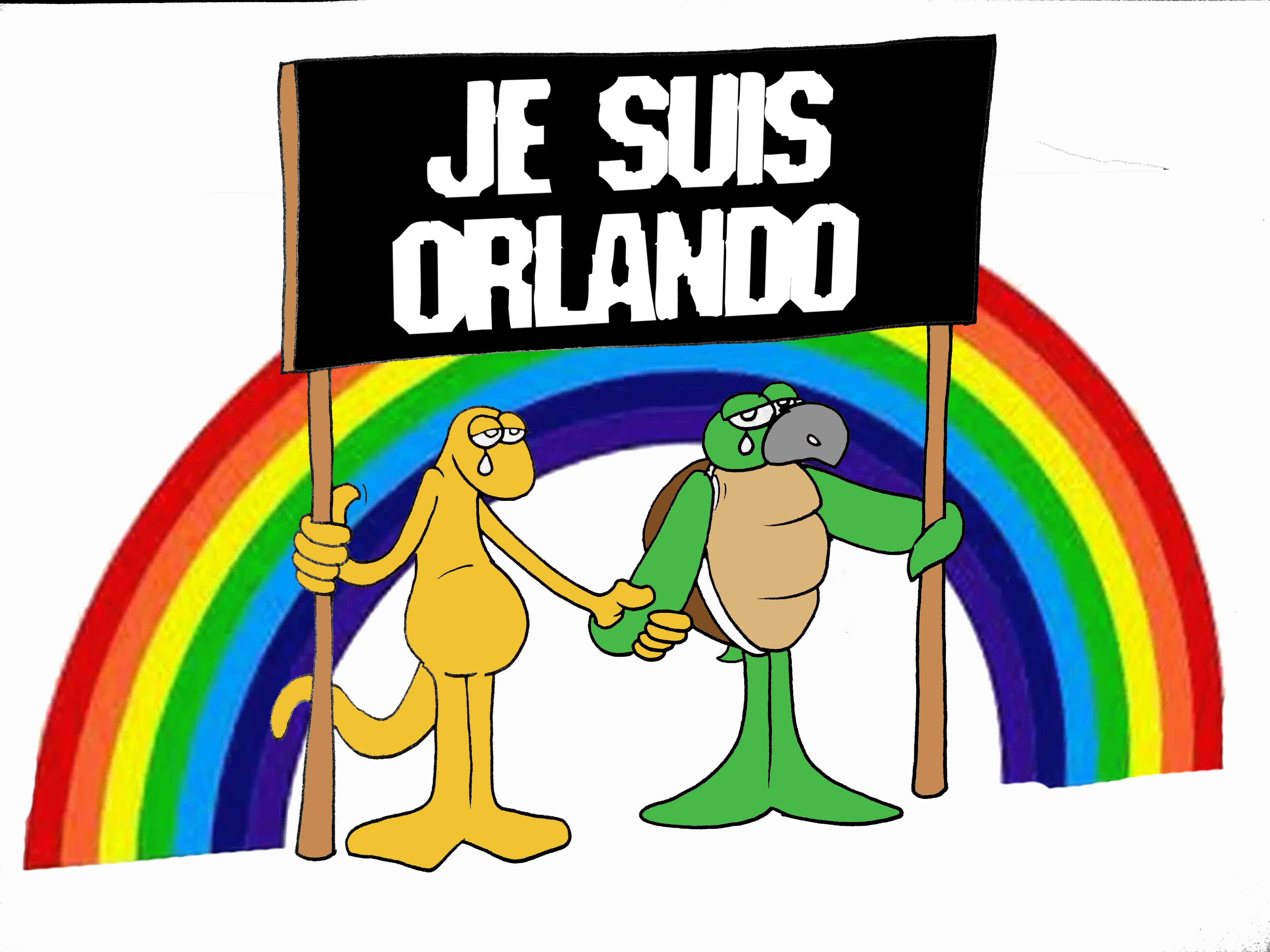 """""""La tuerie d'Orlando"""" par Munoz"""