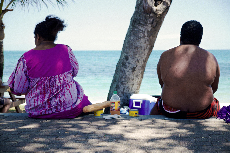 Le gouvernement souhaite changer les comportements des Polynésiens pour réduire le surpoids. Photo d'illustration AFP