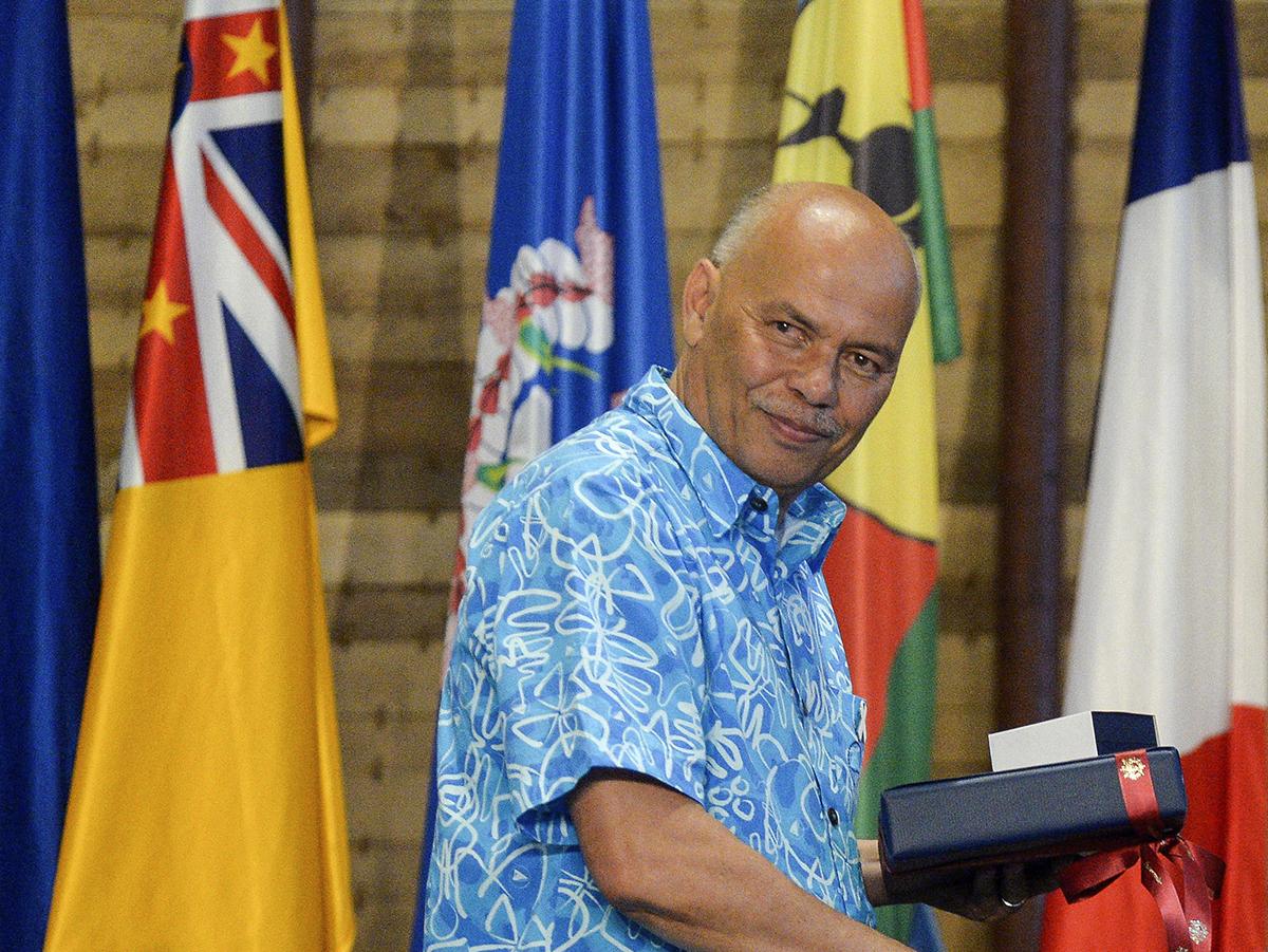 Colin Tukuitonga, directeur général de la CPS.