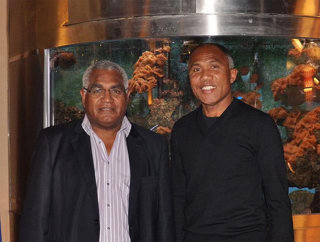 Walles Kotra et Antoine Kombouare.