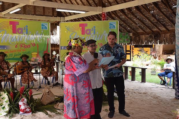 Les 10 finalistes du concours Te Ta'i Mauriuri