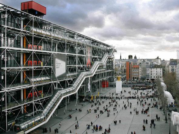 Le Centre Pompidou prêt à aller à Shanghai et Séoul