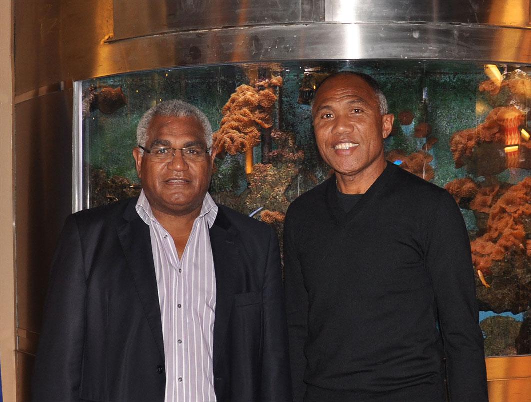 Walles Kotra et Antoine Kombouare