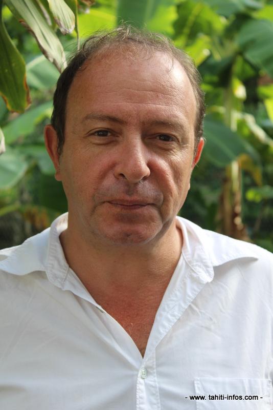 Frédéric Cibard, chargé de communication du conservatoire.
