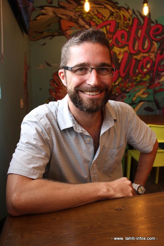 Philippe Lemonnier, organisateur de TEDx Papeete.